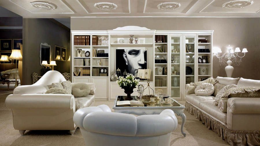 Belmonte mobili zona giorno classica soggiorni for Mobili per salotti classici