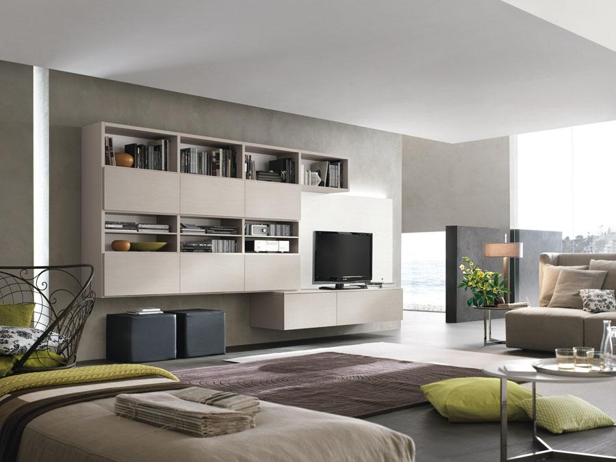 :: Belmonte Mobili - Zona giorno moderna - Soggiorni ...